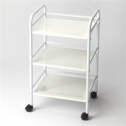 Butler Specialty Butler Loft Serving Cart in White