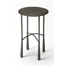 Butler Specialty Industrial Chic Round Accent Table