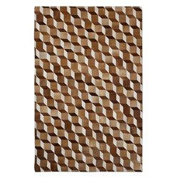Butler Specialty Hair On Hide 8 x 10 Area Rug in Beige and Brown