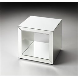 Butler Specialty Butler Loft Cube Accent Table in Clear