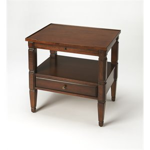 Butler Specialty Masterpiece Accent Table in Medium Brown