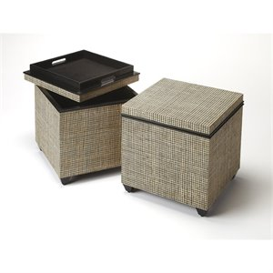 Butler Specialty Butler Accent Table in Multi-Color