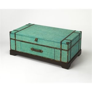 Butler Specialty Butler Loft Trunk Coffee Table in Green