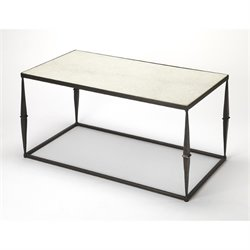 Butler Specialty Butler Loft Marble Top Coffee Table in White