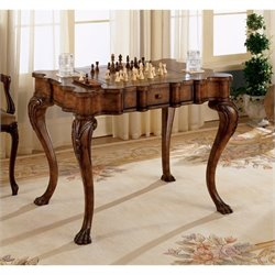 Butler Specialty Heritage Wood Game Table in Burnt Wine Finish
