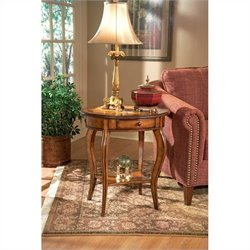 Butler Specialty Masterpiece Oval Wood Accent Table - Brushed Sable
