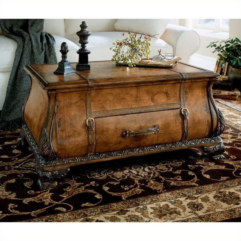 Butler Specialty Heritage Bombe Trunk Cocktail Table