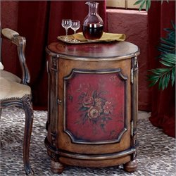 Butler Specialty Artists' Originals Drum End Table - Red