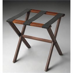 Butler Specialty Luggage Rack in Plantation Cherry Finish