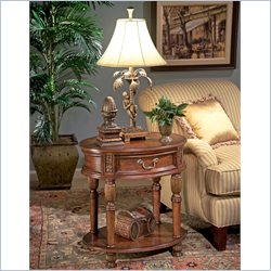 Butler Specialty Oval Accent Table in Butler Hallmark Finish