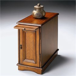Butler Specialty Chairside Chest in Olive Ash Burl Finish