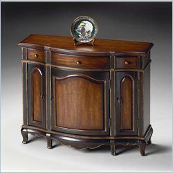 Butler Specialty Console Cabinet in Café Noir Finish