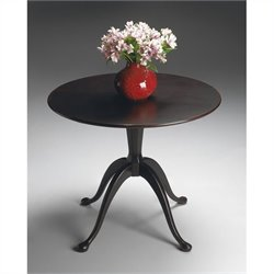 Butler Specialty Hall Table in Plum Black Finish