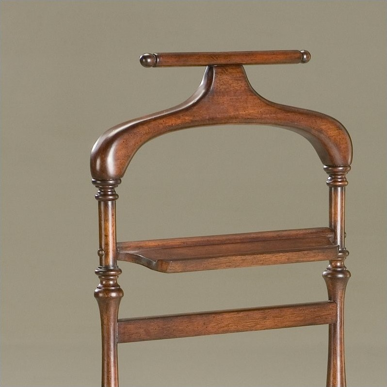 Butler Specialty Valet Stand in Plantation Cherry Finish
