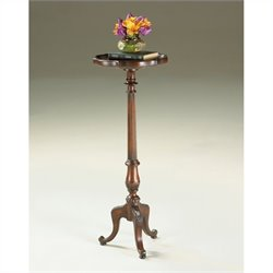Butler Specialty Pedestal Plant Stand in Plantation Cherry Finish