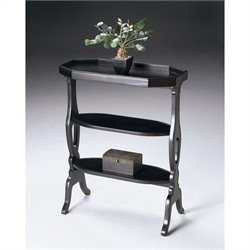 Butler Specialty Accent Table in Plum Black Finish