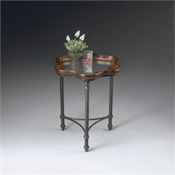 Butler Specialty Accent Table in Metalworks