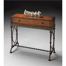 Butler Specialty Console Table in Old World Cherry