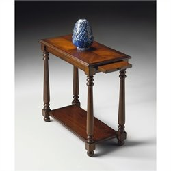 Butler Specialty Chairside Table in Plantation Cherry