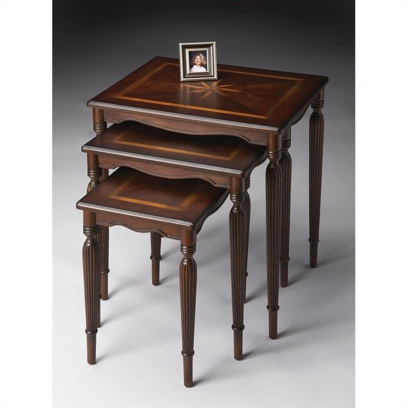 Butler Specialty Nest Of Tables in Plantation Cherry