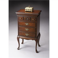 Butler Specialty Jewelry Chest in Plantation Cherry