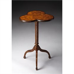 Butler Specialty Accent Table in Olive Ash Burl