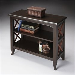 Butler Specialty Low Bookcase in Transitional Cherry