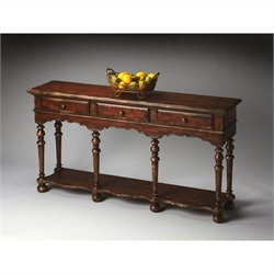 Butler Specialty Console Table in Tobacco Leaf