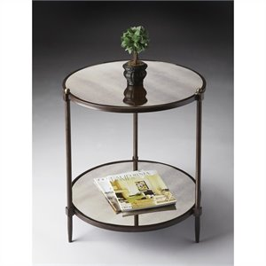 Butler Specialty Side Table in Metalworks