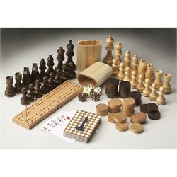 Butler Specialty Carved Wood Game Pieces
