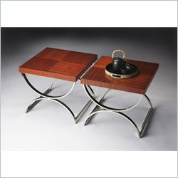 Butler Specialty Bunching Table in Nickel Plated