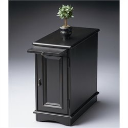 Butler Specialty Chairside Chest in Black Licorice Finish