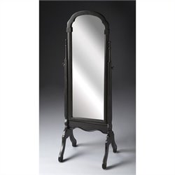 Butler Specialty Cheval Mirror in Brushed Sable Finish