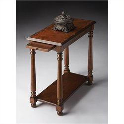 Butler Specialty Chairside Table in Castlewood