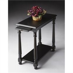 Butler Specialty Chairside Table in Black Licorice