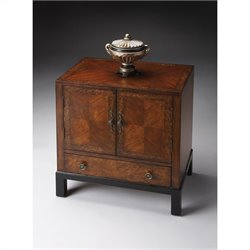 Butler Specialty Accent Chest in Cherry & Burl
