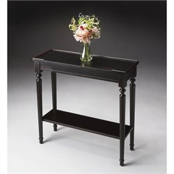 Butler Specialty Console Table in Plum Black