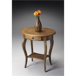 Butler Specialty Masterpiece Oval Accent Table in Praline