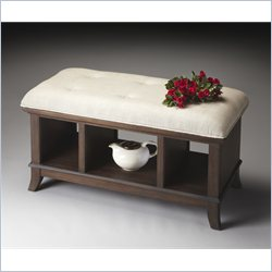 Butler Specialty Loft Storage Bench in Cocoa