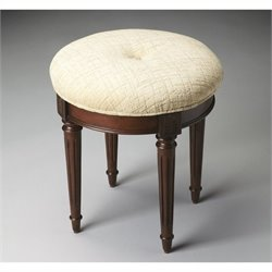 Butler Specialty Vanity Stool in Plantation Cherry