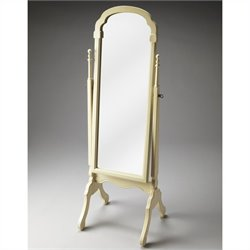 Butler Specialty Artists' Originals Cheval Mirror in Cottage White