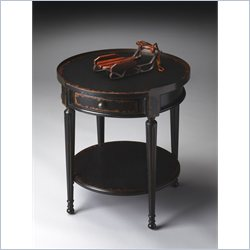 Butler Specialty Masterpiece Accent Table in Midnight Rose