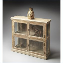 Butler Specialty Mountain Lodge Display Cabinet