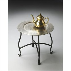 Butler Specialty Metalworks Moroccan Tray Table