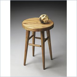 Butler Specialty Mountain Lodge Stool in Natural Wood