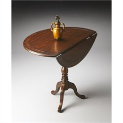 Butler Specialty Masterpiece Drop-Leaf Hall Table in Castlewood