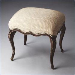 Butler Specialty Artists' Originals Michelline Tobacco Leaf Stool