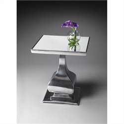 Butler Specialty Modern Expressions Accent Table in Nickel