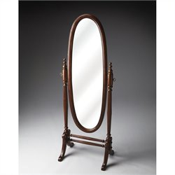 Butler Specialty Cheval Mirror in Plantation Cherry