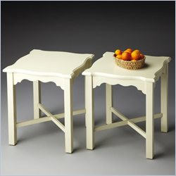 Butler Specialty Masterpiece Bunching Table in Cottage White